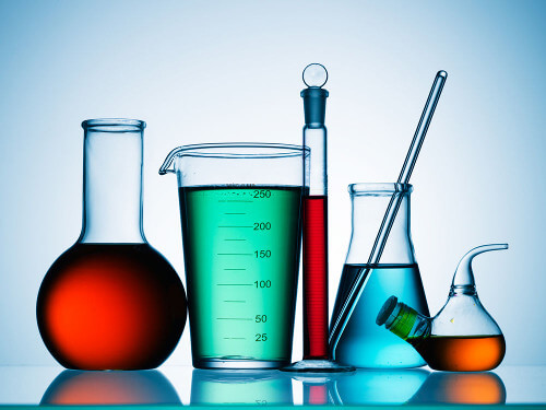 Beakers and Laboratory Equipment