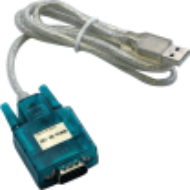 RS-232 nach USB Schnittstellenkabel (muss zusammen mit dem passenden RS-232-Kabel bestellt werden)
